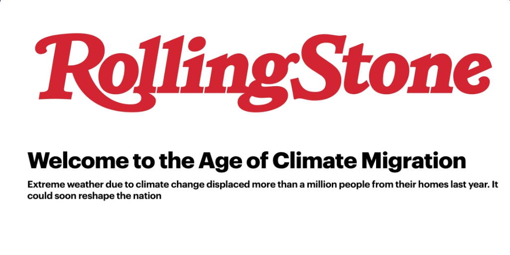 Rolling Stone article on climate change and extreme weather