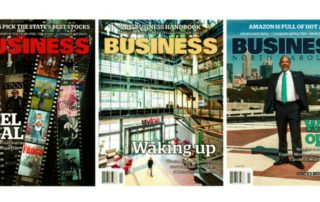 Business NC magazine covers