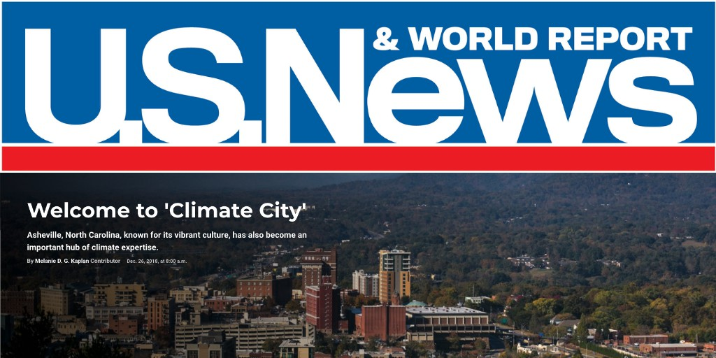 "ISG is located in ""Climate City"" - Asheville NC."